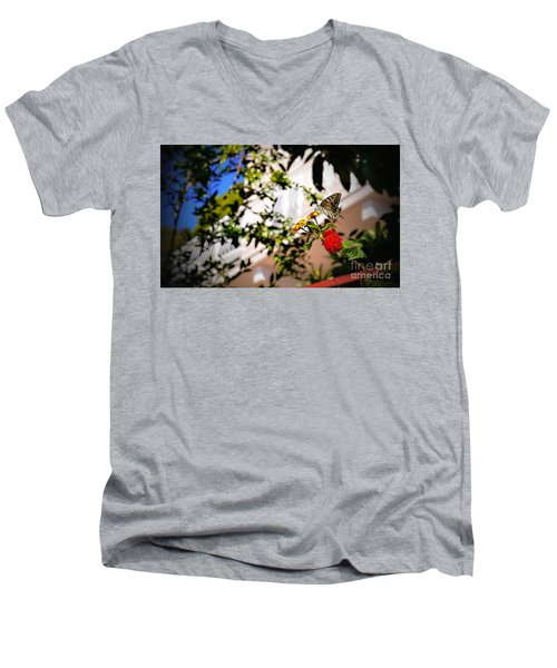 Dubrovniks Butterfly Men's V-Neck T-Shirt
