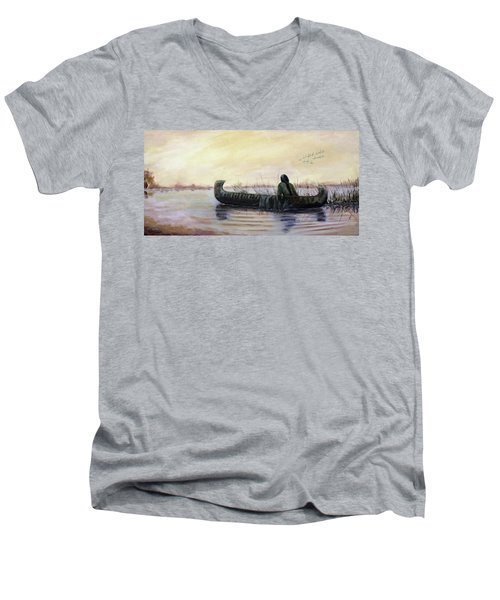 Duck Hunter Men's V-Neck T-Shirt