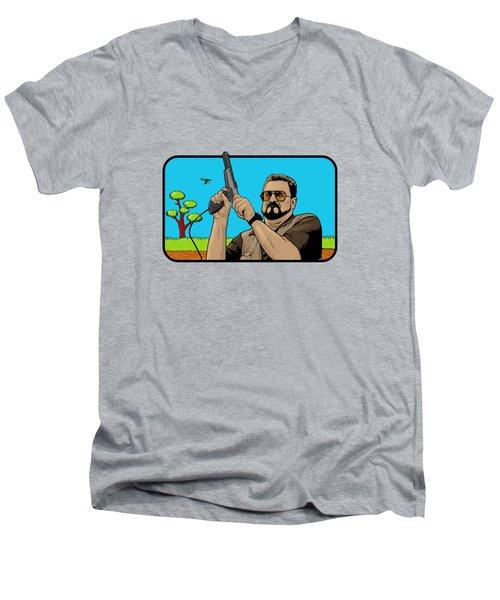 Duck Hunting On Shabbos  Men's V-Neck T-Shirt
