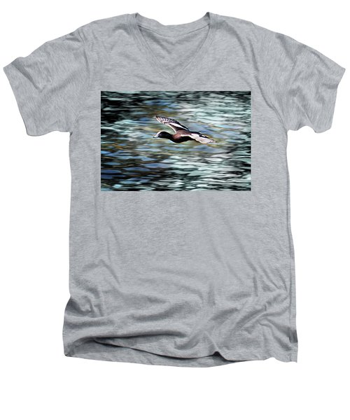 Duck Leader Men's V-Neck T-Shirt