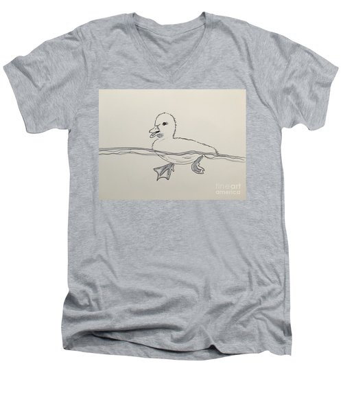 Duckling Men's V-Neck T-Shirt