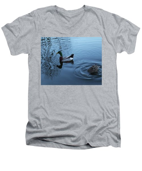 Mallard Duck Men's V-Neck T-Shirt