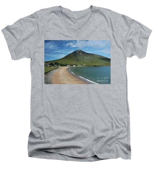 Dugort Beach Achill Men's V-Neck T-Shirt