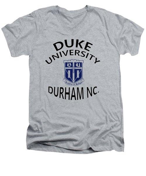 Duke University Durham Nc Men's V-Neck T-Shirt