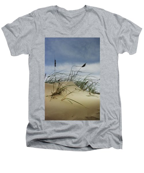 Dune And Beach Grass Men's V-Neck T-Shirt