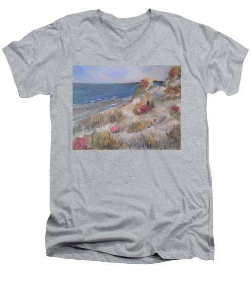 Dune View Men's V-Neck T-Shirt