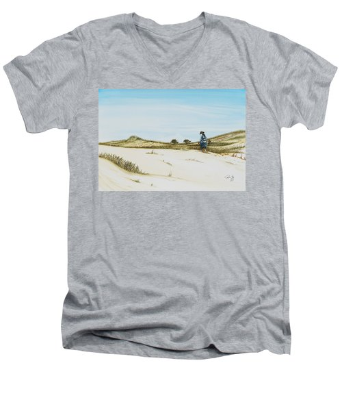 Dune Walker Province Lands Men's V-Neck T-Shirt