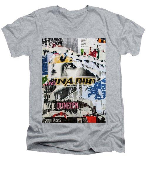 Dunedin Men's V-Neck T-Shirt by Roseanne Jones