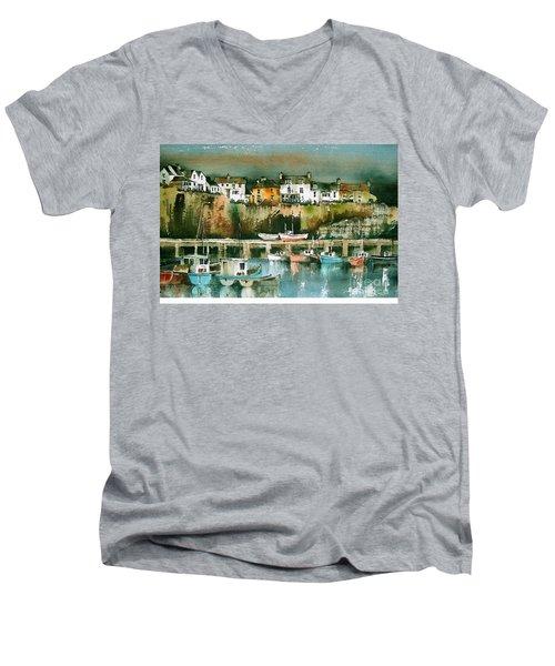 Dunmore East, Waterford Men's V-Neck T-Shirt