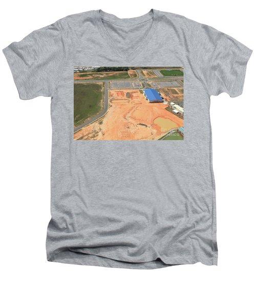 Dunn 7780 Men's V-Neck T-Shirt