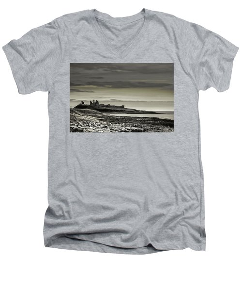 Dunstanburgh Men's V-Neck T-Shirt