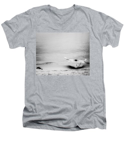 Duo Men's V-Neck T-Shirt by Ryan Weddle