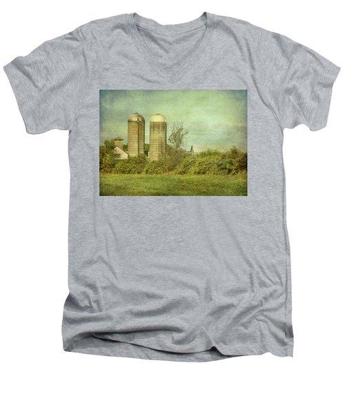 Duo Silos  Men's V-Neck T-Shirt