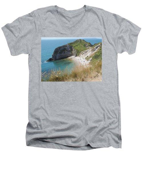 Durdle Door Photo 1 Men's V-Neck T-Shirt