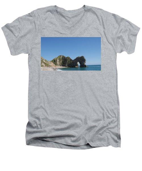 Durdle Door Photo 6 Men's V-Neck T-Shirt