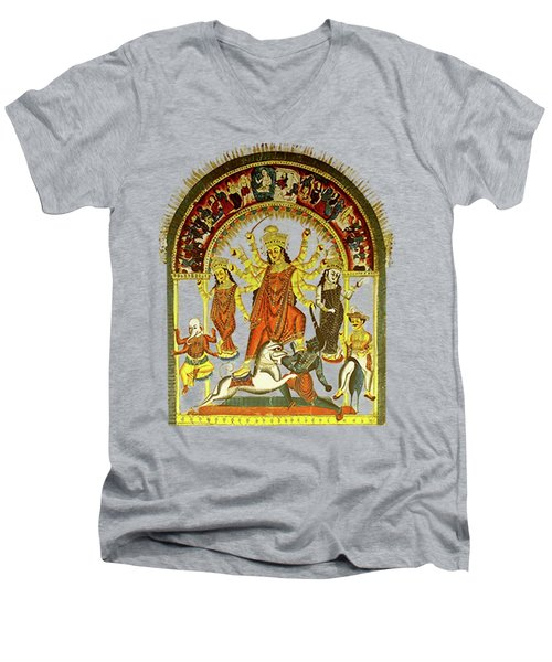 Durga Men's V-Neck T-Shirt