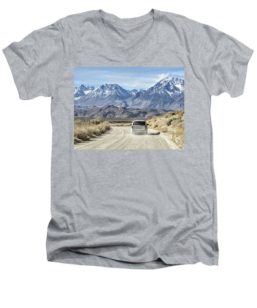 Dusty Men's V-Neck T-Shirt