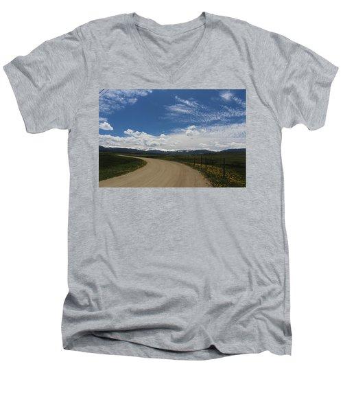 Dusty  Road Men's V-Neck T-Shirt