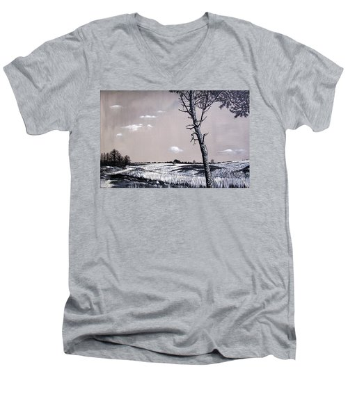Dutch Heathland Men's V-Neck T-Shirt