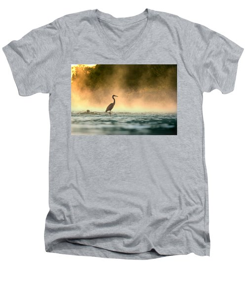 Early Bird Men's V-Neck T-Shirt