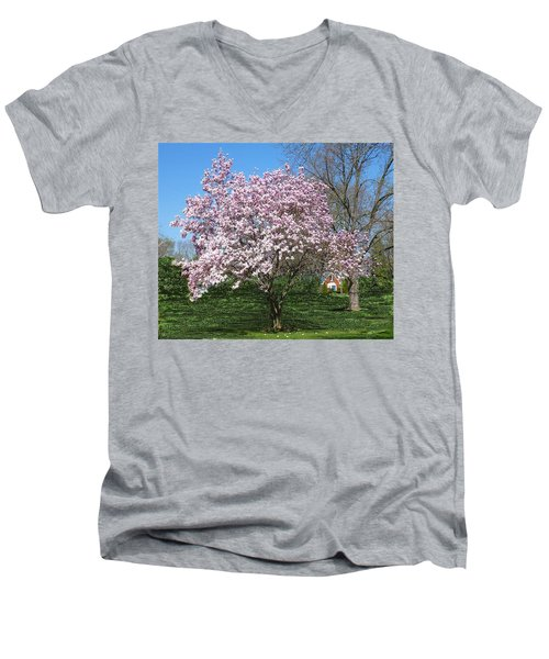 Early Blooms Men's V-Neck T-Shirt