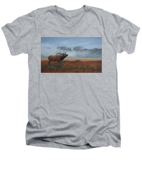 Early Call Men's V-Neck T-Shirt