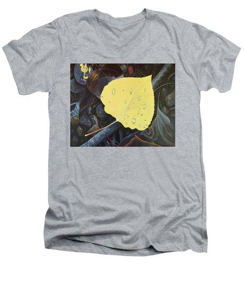 Early Morning Dew Men's V-Neck T-Shirt
