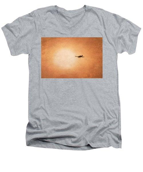 Early Morning Flight Men's V-Neck T-Shirt