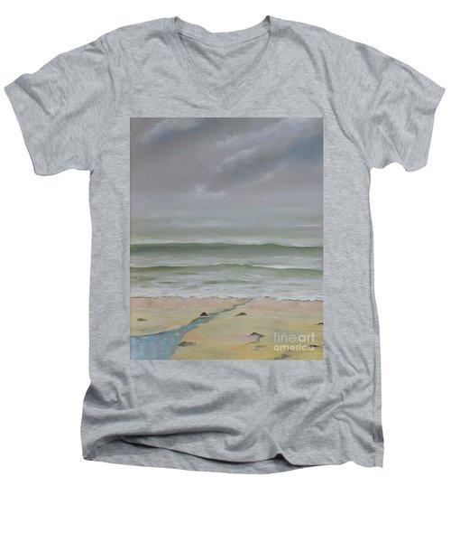Early Morning Fog Men's V-Neck T-Shirt