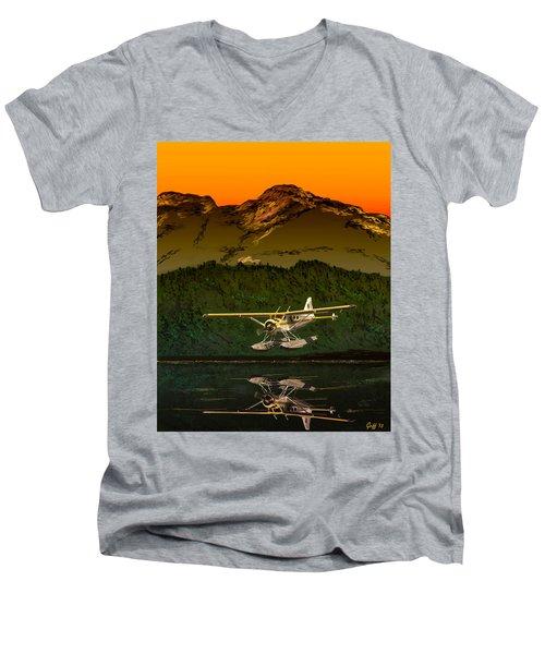 Early Morning Glass Men's V-Neck T-Shirt