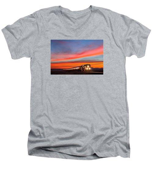 Early Morning Haul Men's V-Neck T-Shirt