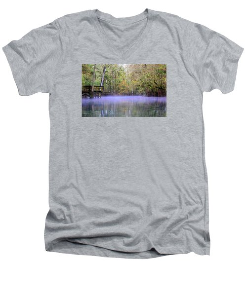 Early Morning Springs Men's V-Neck T-Shirt