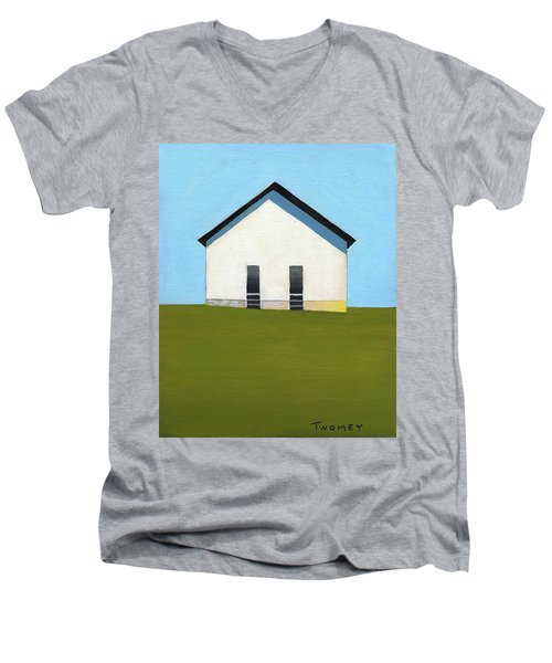 Earlysville Baptist Church Men's V-Neck T-Shirt
