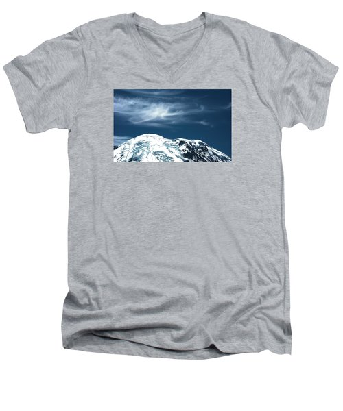 Earth And Heaven Men's V-Neck T-Shirt by John Rossman
