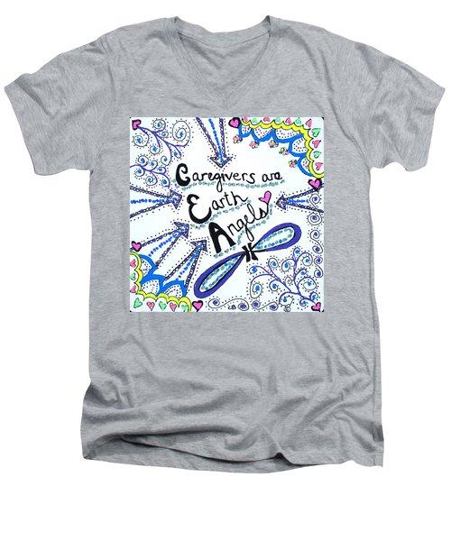 Earth Angel Men's V-Neck T-Shirt