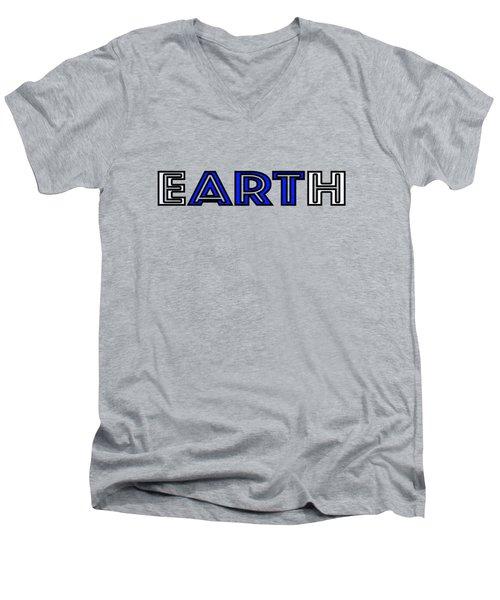 Earth Art Men's V-Neck T-Shirt