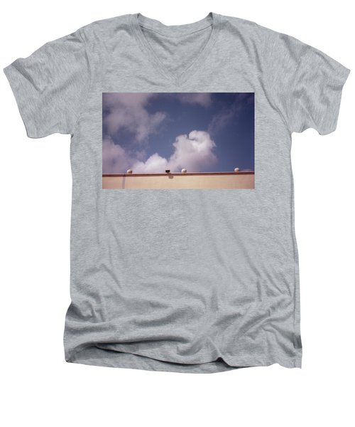 Earth Calling Sky  Men's V-Neck T-Shirt