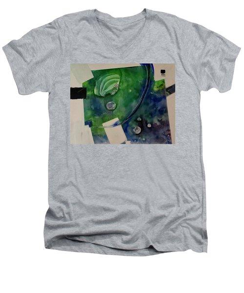 Earth Over Sky Men's V-Neck T-Shirt