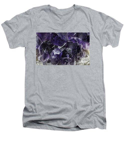 Earth Portrait 001-208 Men's V-Neck T-Shirt
