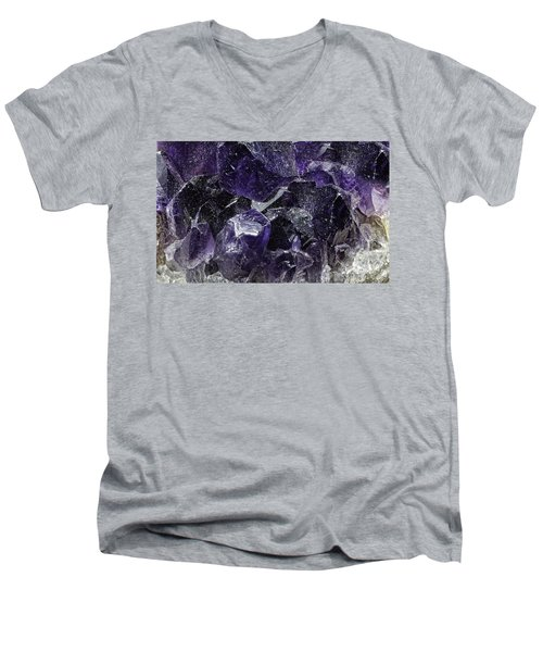 Earth Portrait 001-208 Men's V-Neck T-Shirt