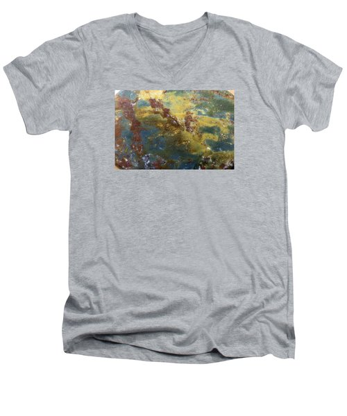 Earth Portrait 008 Men's V-Neck T-Shirt