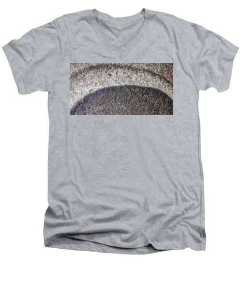 Earth Portrait L10 Men's V-Neck T-Shirt