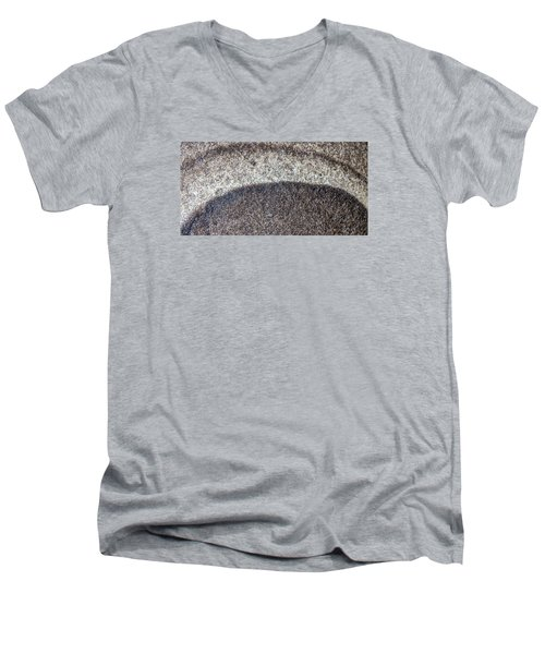 Earth Portrait L10 Men's V-Neck T-Shirt