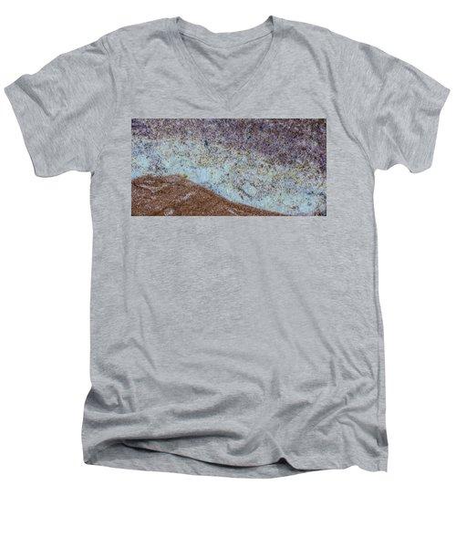 Earth Portrait L3 Men's V-Neck T-Shirt