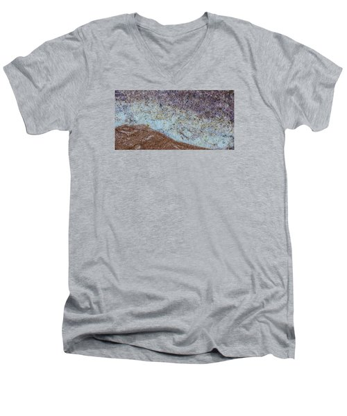 Earth Portrait L3 Men's V-Neck T-Shirt