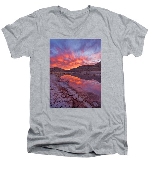 Earth Scales Men's V-Neck T-Shirt