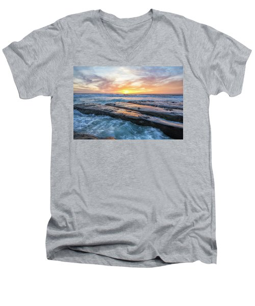 Earth, Sea, Sky Men's V-Neck T-Shirt