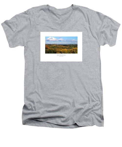 East Grinstead Men's V-Neck T-Shirt