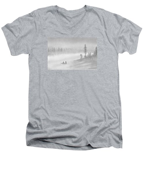 East Inlet Men's V-Neck T-Shirt