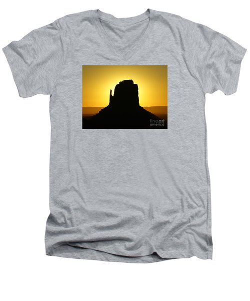 East Mitten Butte Men's V-Neck T-Shirt